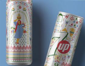 七喜埃及限量版系列饮料包装设计