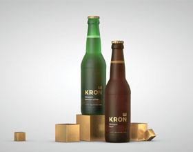 Krone啤酒包装设计