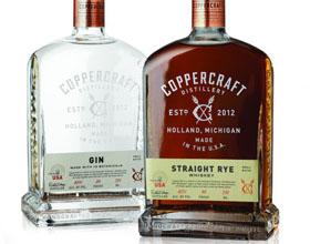 密歇根州Coppercraft荷兰酒品牌包装设计