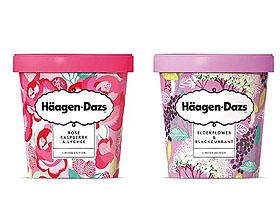 英国哈根达斯冰激凌包装设计