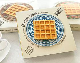 俄罗斯Барон Руле华夫饼包装设计