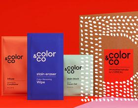 欧莱雅Color&Co个人护理用品包装设计