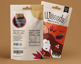 墨西哥Wiseeds零食包装设计