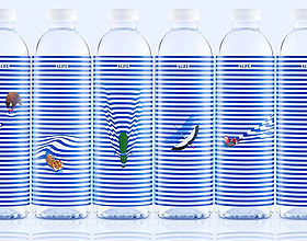 4 Life矿泉水包装设计