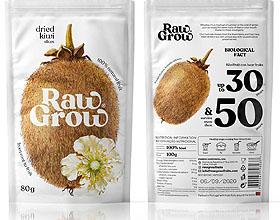 Raw Grow优质干果包装设计