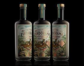 巴西Pindorama Gold高级碳酸饮料包装设计