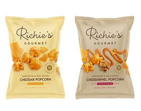 高级爆米花品牌Richie's Gourmet包装设计