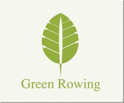 一组绿色环保的标志设计