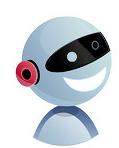 机器人元素LOGO设计