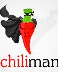 辣椒主题元素标志设计