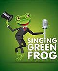 30个创意青蛙元素logo设计