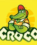15个鳄鱼元素logo设计