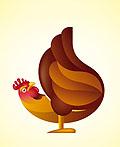 50个鸡元素在logo设计中的运用实例