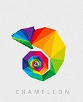 45个钻石纹动物logo设计