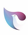 11个三维色彩渐变小动物logo设计