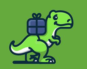32个恐龙元素在logo设计中的运用实例