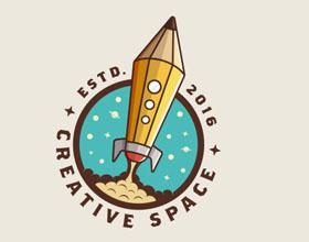 65个最好的火箭元素logo设计灵感