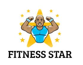 30个创意健身房和健身标志设计