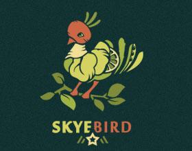 20个鸟元素在logo设计中的运用实例