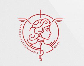32个国外创意医院元素logo设计实例