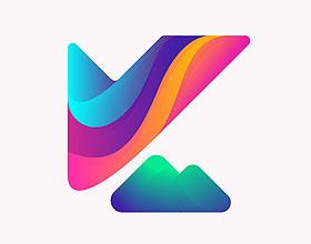 10+创意彩色渐变logo设计欣赏