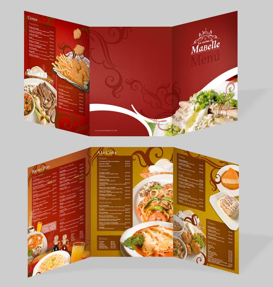 30款国外优秀菜单设计