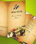 32款国外酒店餐厅菜单设计