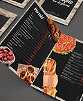 仿木质Piscina酒吧菜谱设计
