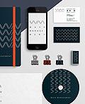 东京WAVEMANAGEMENT投资公司视觉形象设计