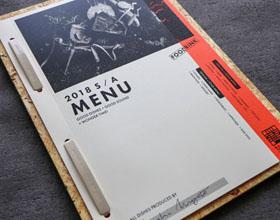 复古的troop餐厅菜单设计