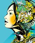 女性插画艺术设计作品欣赏