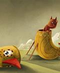 Alex Dukal充满童趣的儿童插画