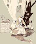 日本插画师Yurakuru娃娃插画欣赏