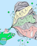西班牙插画家Pepa Prieto作品欣赏