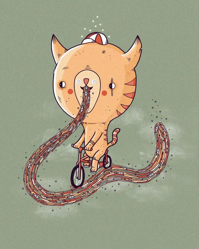 Aaron Jay充满童趣的插画设计