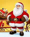 形态各异的圣诞老人插画设计