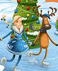 圣诞快乐插画设计