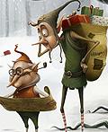 圣诞童话插画设计