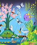 英国插画艺术家Russell Cobb插画作品欣赏