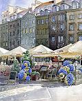 波兰画家和建筑师Grzegorz Wróbel插图作品