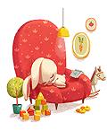 乌克兰Alena Tkach插画设计作品