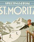 复古风格的欧洲旅行插画