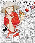 韩国lee yong kyu插画设计作品