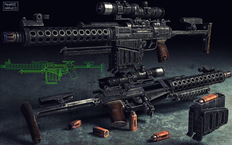 经典Pavel Proskurin游戏设计武器篇