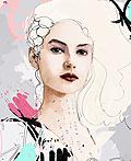 Raphael Vicenzi时尚女性人物插画设计