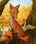 敏捷的狐狸