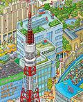 东京旅游日历插画