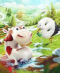 梦幻的动物插画