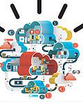 IBM广告插画设计