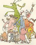 瑞典插画师Mattias Adolfsson人物插画(一)